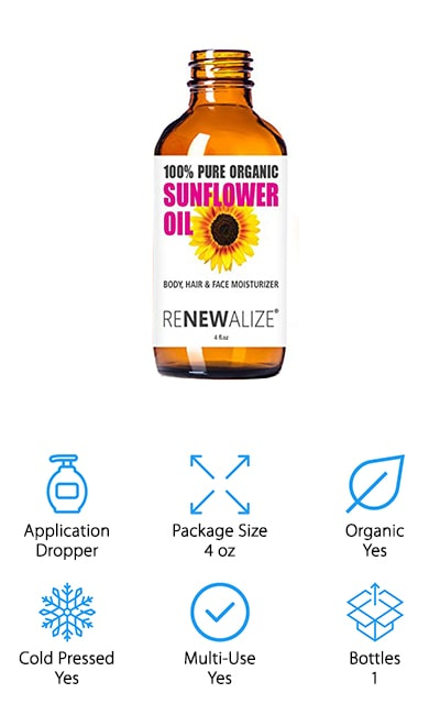 Renewalize Sunflower Seed Oil