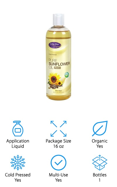 Life-Flo Pure Sunflower Oil