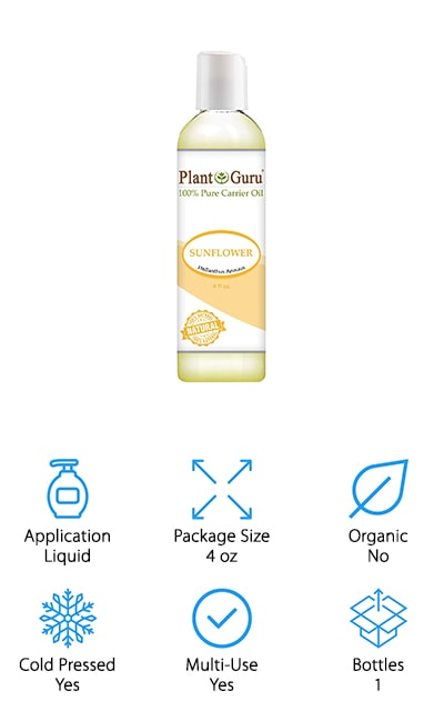 Plant Guru Sunflower Oil