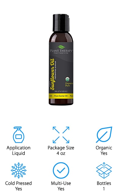 Plant Therapy Sunflower Oil