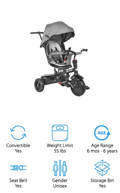 besrey 7 in 1 Tricycle