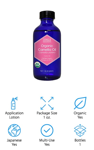 This USDA certified organic oil is a lotion style that is made with cold pressed seed oil. It's a small bottle, which means you can take it with you anywhere you need it. You'll also feel better that it's ethically produced and that it's entirely natural. There are no pesticides or fertilizers used in the production of this oil and it's even GMO-free, preservative-free, paraben-free and even gluten-free. You also get absolutely vegan ingredients and a cruelty-free product that you can count on. You'll be able to reduce skin conditions, stretch marks, sun damage, and antioxidants. It's great for skin, hair, nails and everything else as well, so you're going to feel a whole lot better about the way you look.