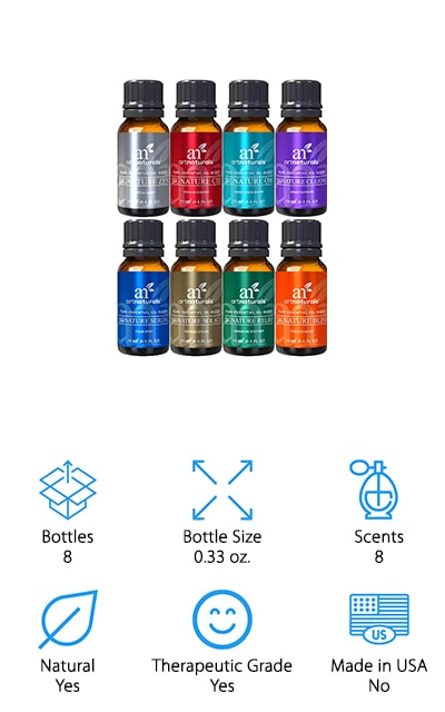 ArtNatural's Signature Essential Oils