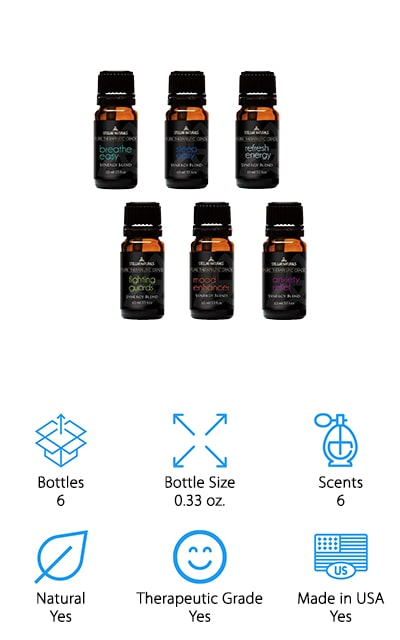 Stellar Naturals Essential Oil Blends