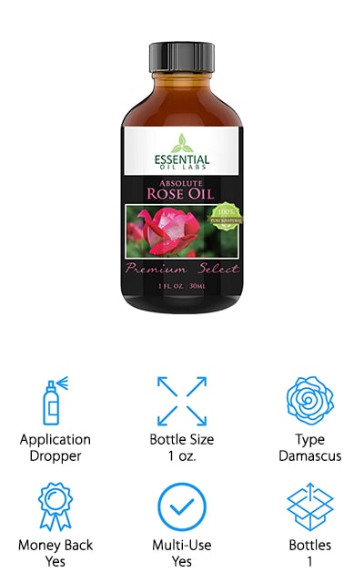 Essential Oil Labs Rose Oil