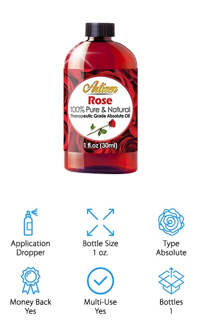 Artizen Rose Essential Oil