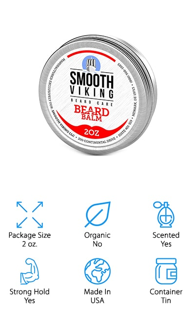 Smooth Viking Beard Wax