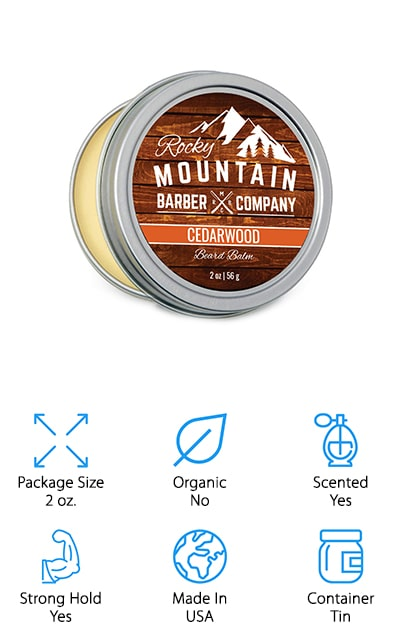 Rocky Mountain Barber Beard Wax