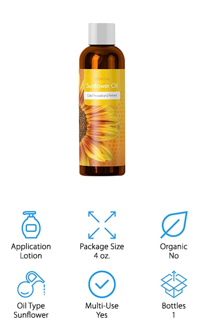 Maple Holistics Sunflower Seed Oil
