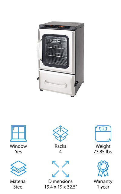 Dyna-Glo Digital Electric Smoker