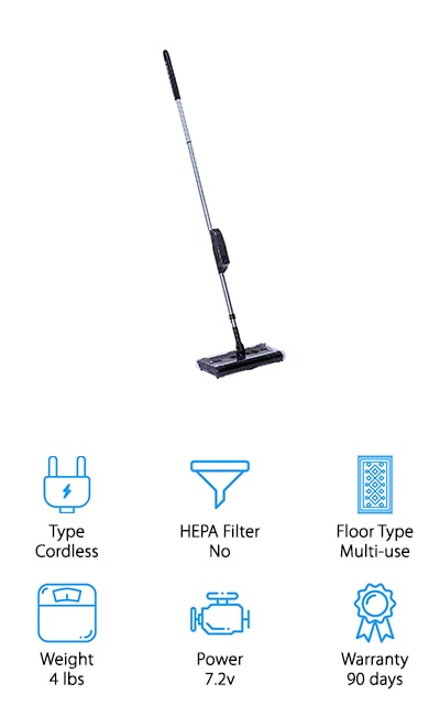 Ontel Products Max Swivel Sweeper