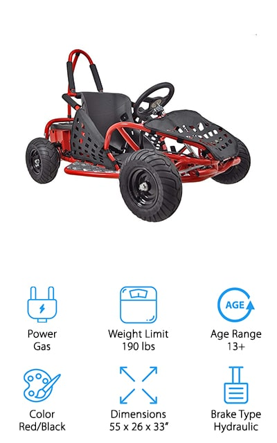 XtremepowerUS Off Road Go Kart