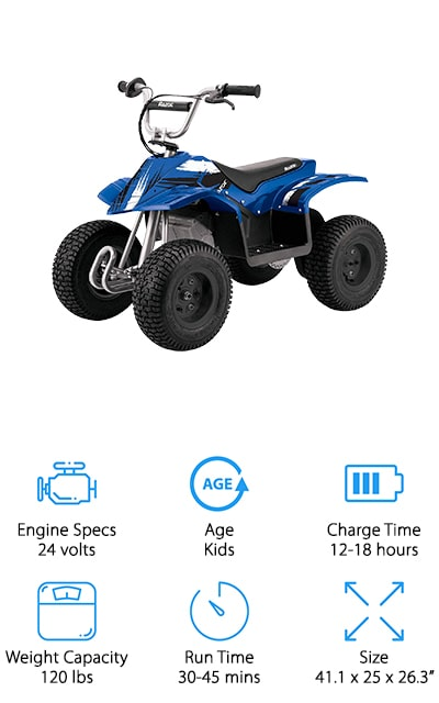 Razor Dirt Quad ATV