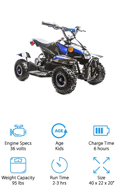 Rosso Motors Electric ATV