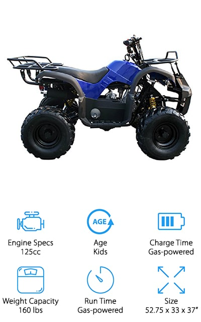 MOTOR HQ ATV Four Wheeler