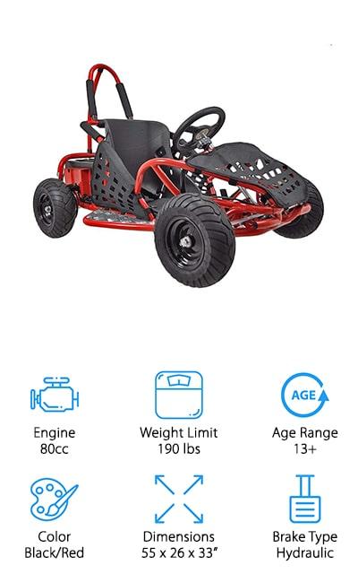 XtremepowerUS Off Road Go-kart