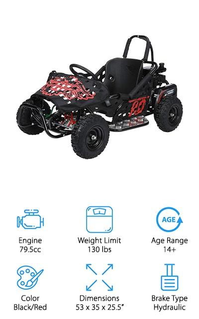 Monster Moto Go-kart