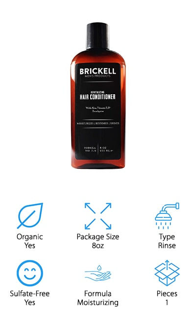 Brickell Revitalizing Hair Conditioner