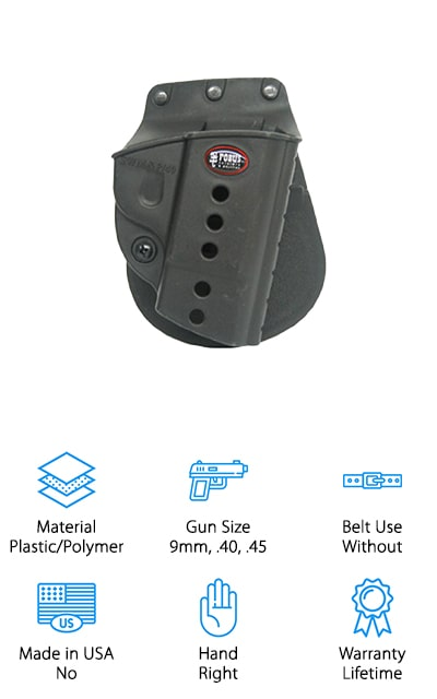 Fobus M&P Shield Holster