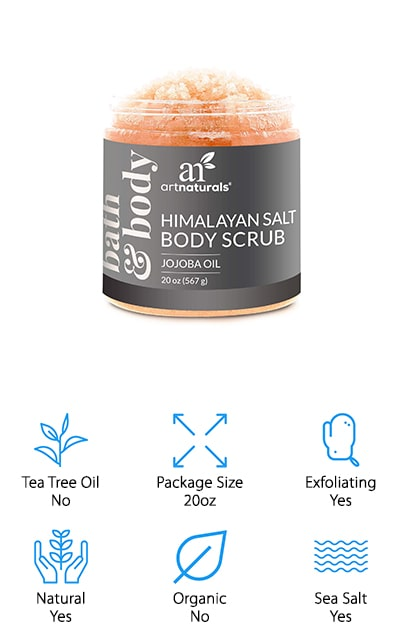 ArtNaturals Salt Body Scrub