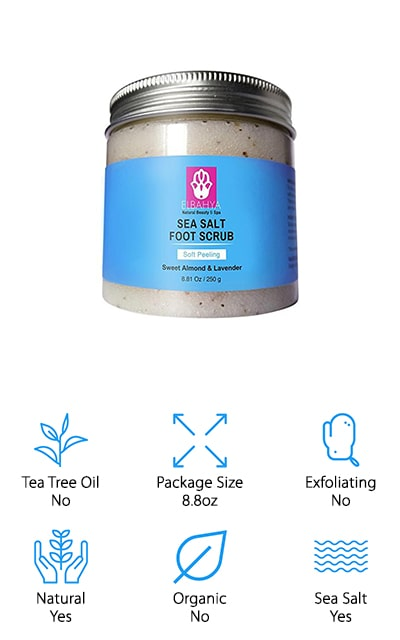 Elbahya Sea Salt Foot Scrub