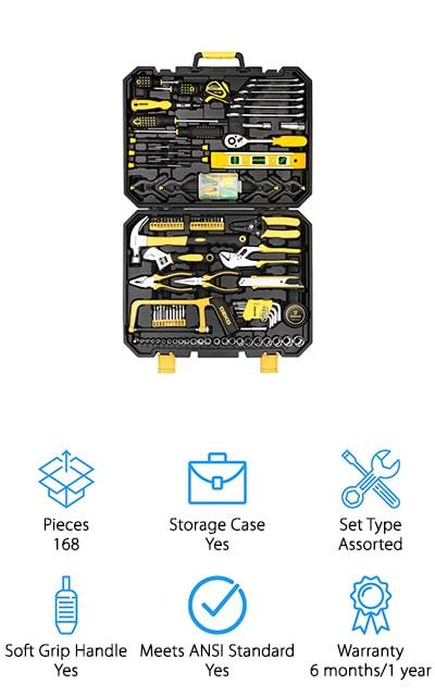 DEKOPRO Hand Tool Kit