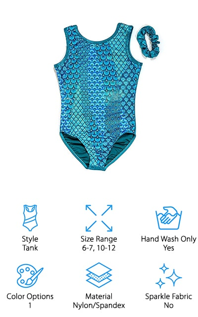 DESTIRA Mermaid Leotard