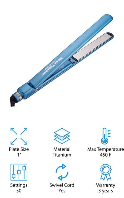 BaBylissPRO Nano Flat Iron