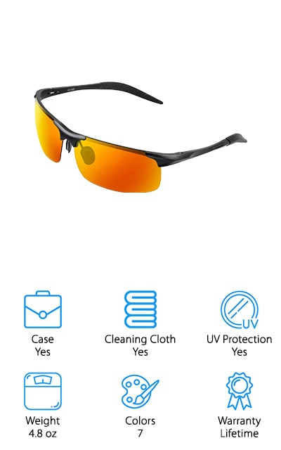COSVER Sports Style Sunglasses