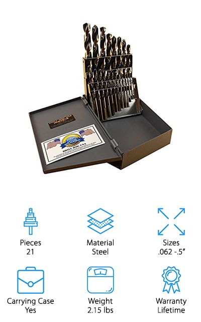 Drill Hog 21 pc Set
