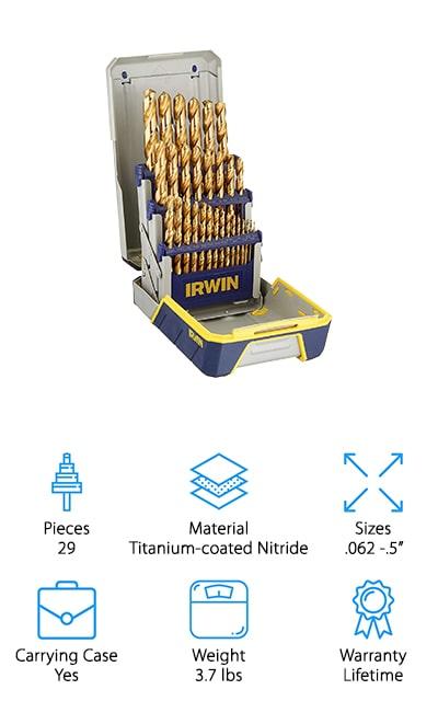 Irwin Titanium Nitride 29pc