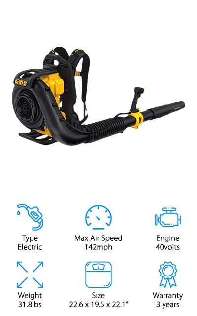DEWALT Backpack Blower