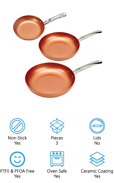 Copper Chef Round Pans
