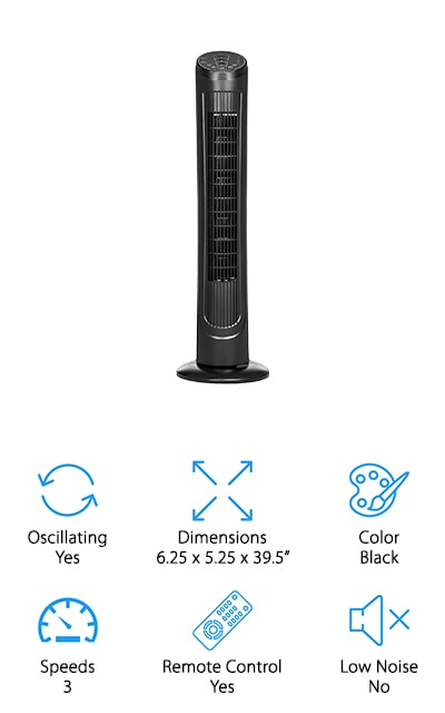 Best Choice Products Tower Fan