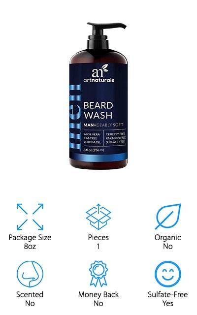 ArtNaturals Beard Shampoo