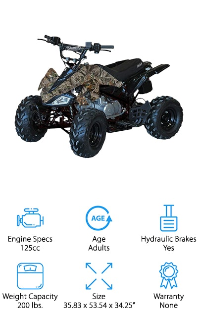 Coleman Powersports Four Wheeler