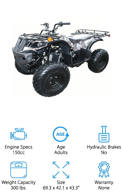 SaferWholeSale Four Wheeler