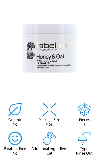 Label.m Honey & Oat Hair Mask