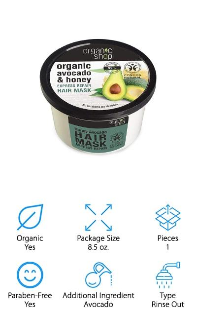 Organic Shop Hair Mask