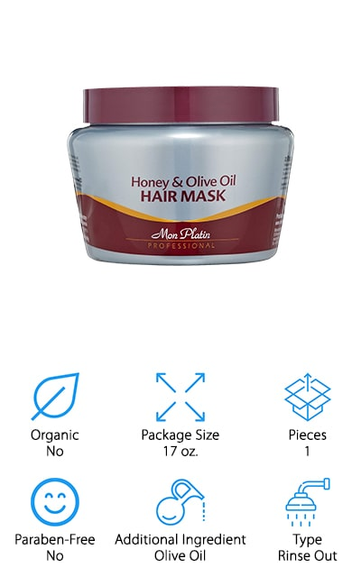Mon Platin Honey Hair Mask