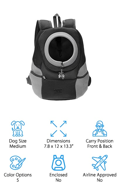 CozyCabin Dog Carrier Backpack