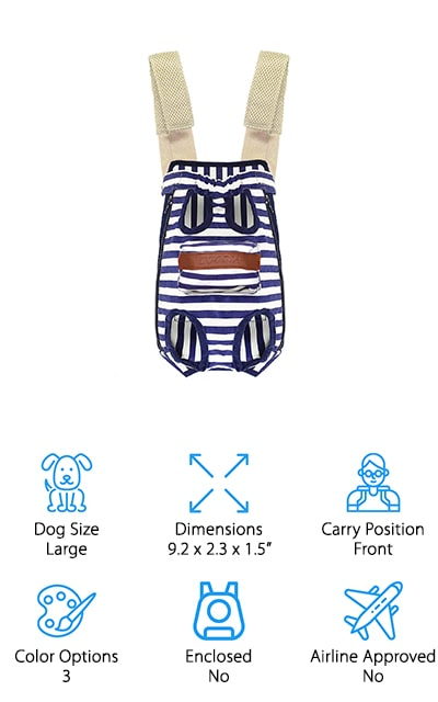 COODIA Dog Carrier Backpack