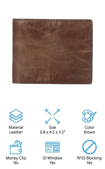 Fossil Flip Bifold Wallet