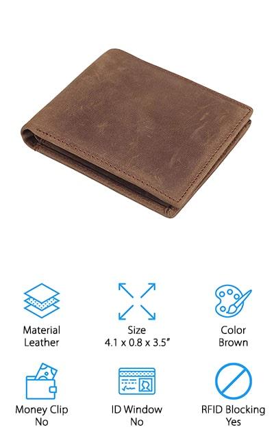 Polare Men's Slim Bifold Wallet