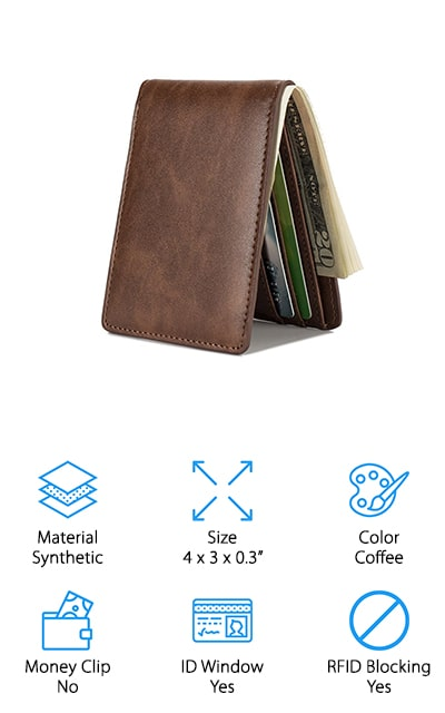 HISSIMO Front Pocket Wallet
