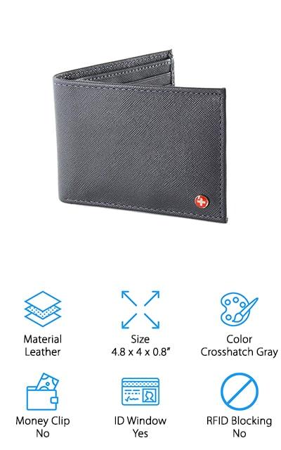 Alpine Swiss Bifold Wallet