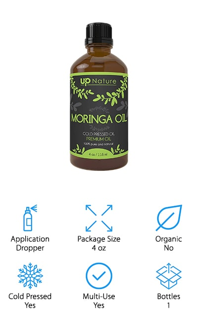 UpNature Moringa Oleifera Oil