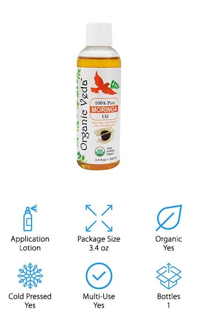 Organic Veda Moringa Oil