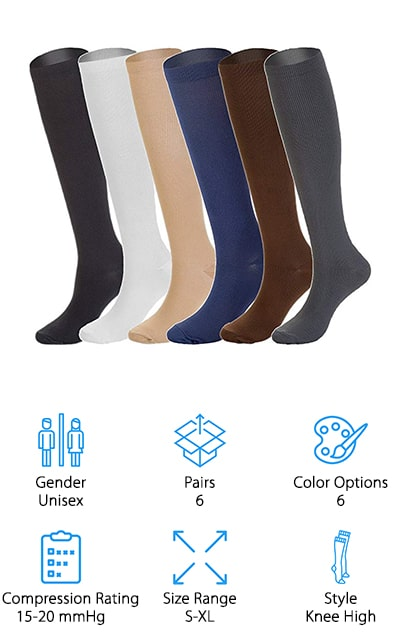 NOVAYARD Compression Socks