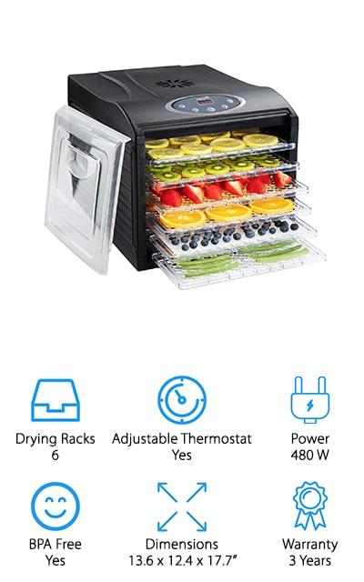 Ivation Premium Dehydrator